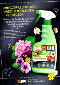 B2C Anzeige für Gartenzubehör-Unternehmen